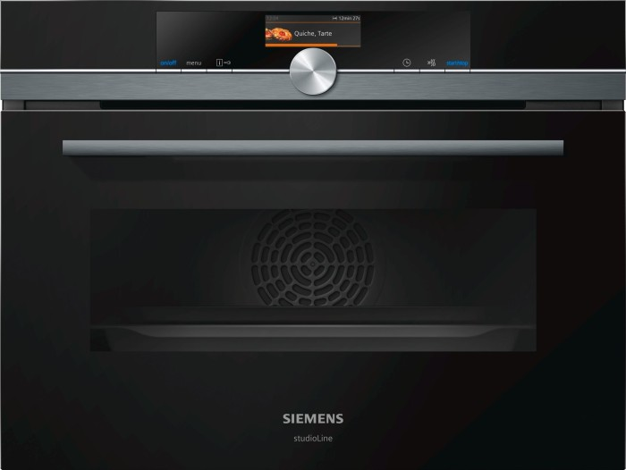 Siemens iQ700 CM876G0B6 oven with microwave