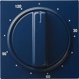 Gira Abdeckung mit Knebel für Zeitschalter 120 Minuten, blau (0642 46)
