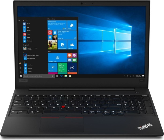 Lenovo ThinkPad E590 schwarz, Core i5-8265U, 8GB RAM, 1TB HDD, Windows 10 Pro (20NB001BGE)