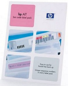 HP AIT Bar Code Label Pack, 100 Stück (Q2005A)