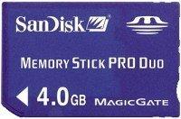 SanDisk Mobile Memory Stick PRO Duo 4GB (SDMSPD-4096-E10M)