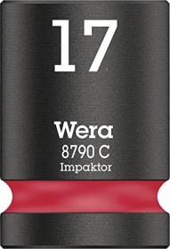 """Wera 8790 C Impaktor Außensechskant Stecknuss 1/2"""" 17x38mm (05004574001)"""