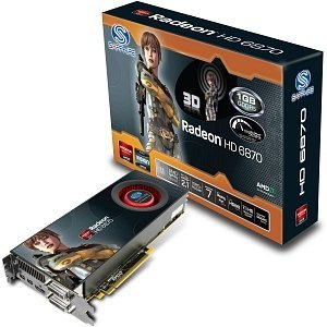 Sapphire Radeon HD 6870 AMD-Design, 1GB GDDR5, 2x DVI, HDMI, 2x Mini DisplayPort, full retail (21179-00-40R)