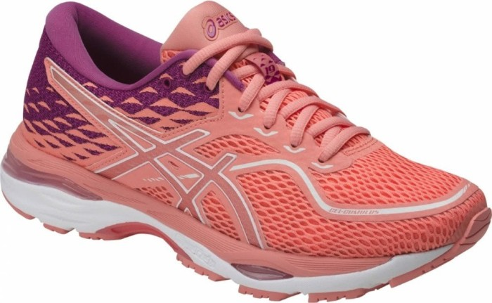 Asics Damen Gel-Cumulus 19 Laufschuhe, Pink (Cosmo Pink/White/Winter Bloom), 39.5 EU