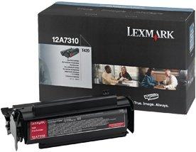 Lexmark Toner 12A7310 black