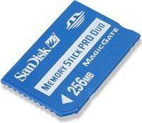 SanDisk Memory Stick [MS] Pro Duo Mobile 256MB (SDMSPD-256-E10M)