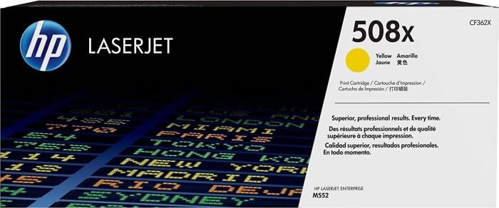 HP Toner 508X yellow high capacity (CF362X)