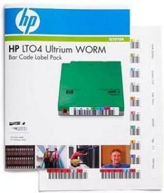 HP LTO-Ultrium 4 WORM Bar Code Label Pack (Q2010A)