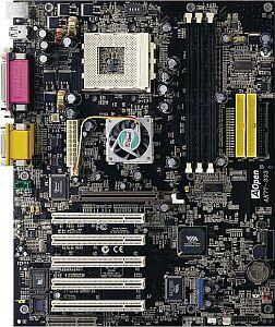 AOpen AK77-333, KT333, USB 2.0 (PC-2700 DDR) (91.8A110.004)