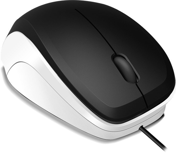 Speedlink Ledgy Mouse black-white, USB (SL-610000-BKWE)