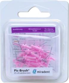 Miradent Pic-Brush pink Ersatz Interdentalbürste xx-fine, 25 Stück
