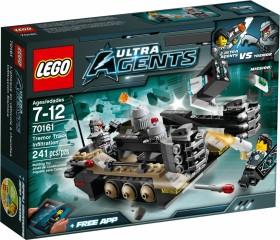 LEGO Ultra Agents - Tremors Kettenfahrzeug (70161)