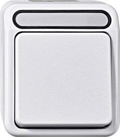 Merten Aquastar Aus/Wechselschalter 1-polig, polarweiß (MEG3116-8019)