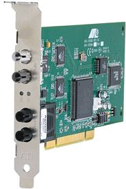 Allied Telesis AT-2746FX/SC, 1x 10Base-FX/100Base-FX, PCI --