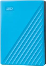 Western Digital WD My Passport portable Storage 2019 blue 4TB, USB 3.0 micro-B (WDBPKJ0040BBL)
