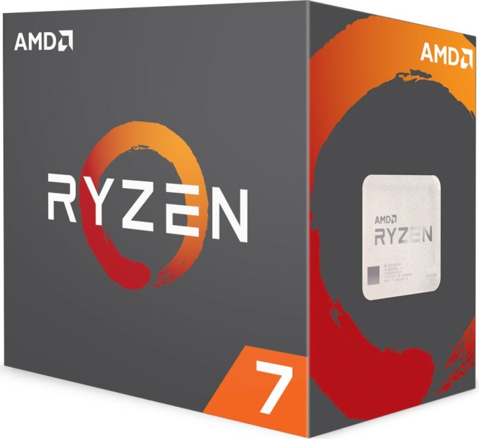 AMD Ryzen 7 1700X, 8x 3.40GHz, boxed without cooler (YD170XBCAEWOF)