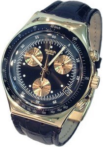 Swatch Irony Chrono Goldfinger (YCG401)