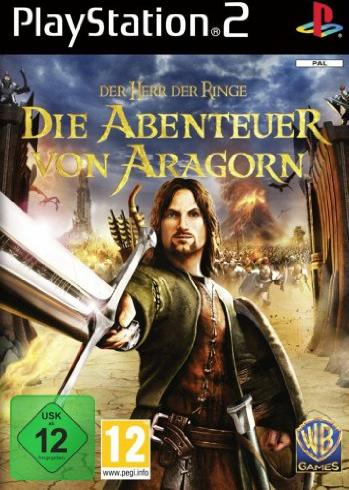 Der Herr der Ringe - Die Abenteuer von Aragorn (deutsch) (PS2) -- via Amazon Partnerprogramm