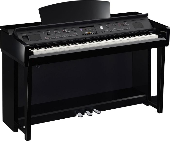 Yamaha CVP-605PE black glare digital piano