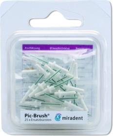 Miradent Pic-Brush weiß Ersatz Interdentalbürste fine, 25 Stück