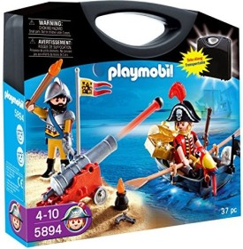 playmobil pirates - koffer pirat und soldat (5894) ab € 29