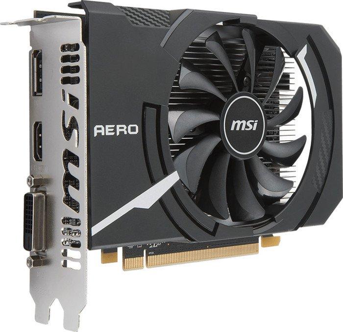 MSI Radeon RX 550 Aero ITX 4G OC, 4GB GDDR5, DVI, HDMI, DP (V809-248R)