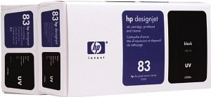 HP 83 combination pack UV black (C5000A)
