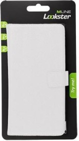 """MLine Lookster Book Case 6"""" weiß (HLOOKSTER6WH)"""