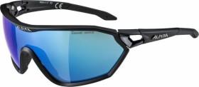 Alpina S-Way CM+ black matt/ceramic mirror blue (A8605.0.31)