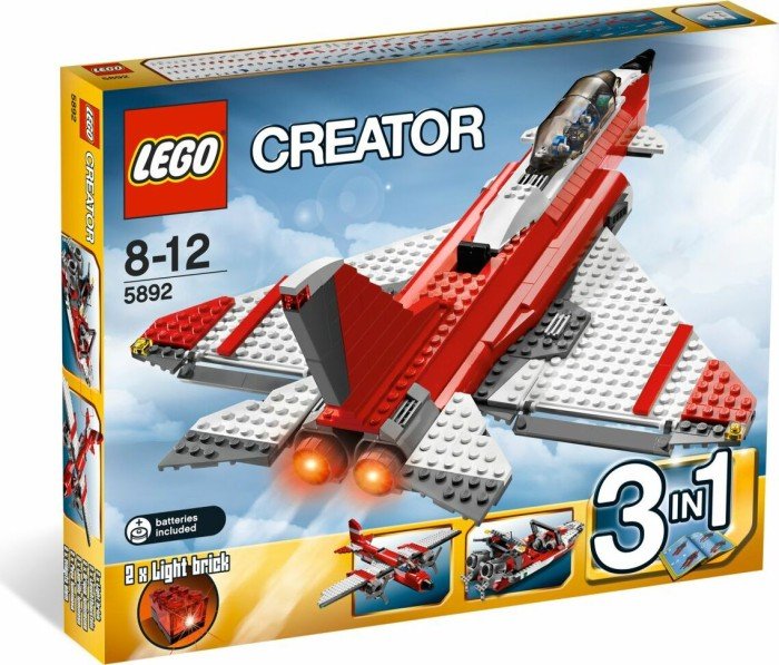 LEGO - Creator 3in1 - Jet (5892) -- via Amazon Partnerprogramm