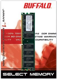 Buffalo DIMM 256MB, DDR-466, CL3