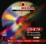 BestMedia Premium CD-R 74min/650MB