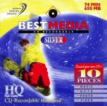 BestMedia Platinum CD-R 74min/650MB,  10er-Pack
