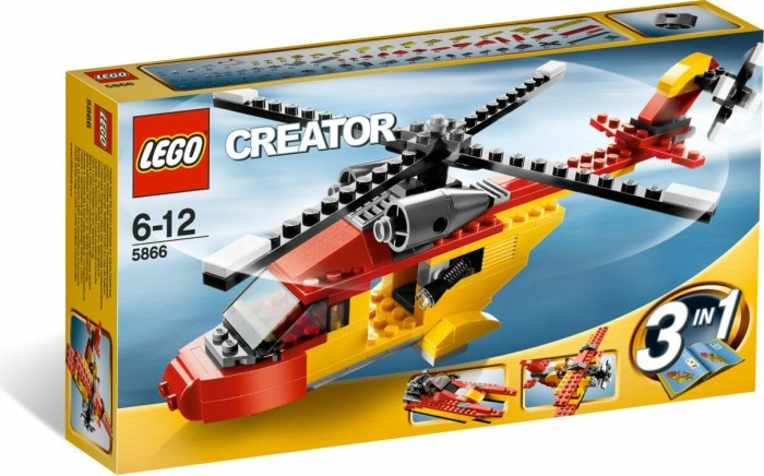 LEGO - Creator 3in1 - Rotor Rescue (5866) -- via Amazon Partnerprogramm