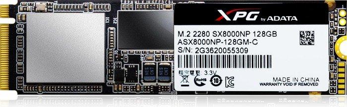 ADATA XPG SX8000 128GB, M.2 (ASX8000NP-128GM-C)