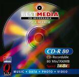 BestMedia Premium CD-R 80min/700MB, 100-pack