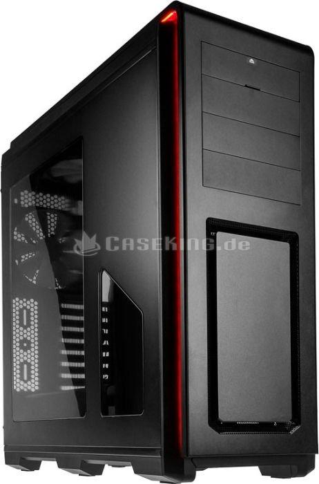 Phanteks Enthoo Luxe schwarz, Acrylfenster (PH-ES614L_BK) -- © caseking.de