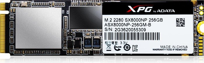 ADATA XPG SX8000 256GB, M.2 (ASX8000NP-256GM-C)