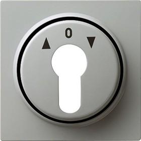 Gira Abdeckung für Schlüsselschalter und Schlüsseltaster, grau (0664 42)