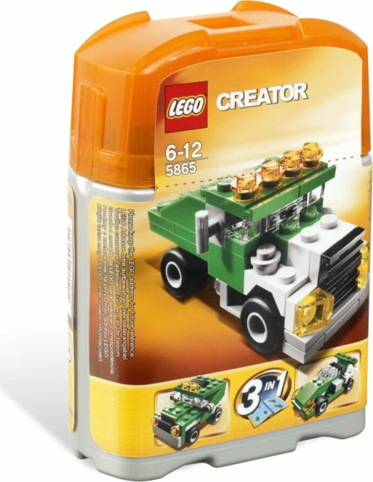 LEGO - Creator 3in1 - mini Dumper (5865) -- via Amazon Partnerprogramm