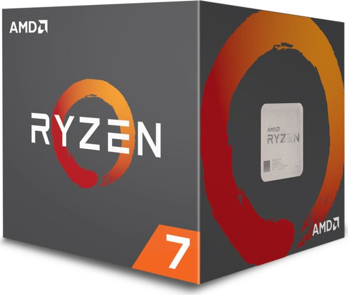 AMD Ryzen 7 1700, 8x 3.00GHz, box (YD1700BBAEBOX)