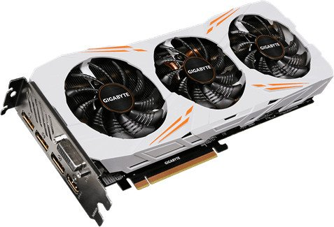 Gigabyte GeForce GTX 1080 Ti Gaming OC 11G, 11GB GDDR5X, DVI, HDMI, 3x DP (GV-N108TGAMING OC-11GD)