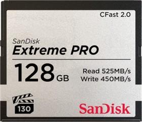 SanDisk extreme PRO R525/W450 CFast 2.0 CompactFlash Card 128GB (SDCFSP-128G-G46D)