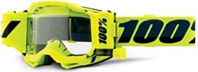 100% Accuri Forecast Goggle fluo yellow/clear lens (50220-004-02)