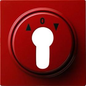 Gira Abdeckung für Schlüsselschalter und Schlüsseltaster, rot (0664 43)