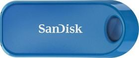 SanDisk Cruzer Snap blau 32GB, USB-A 2.0 (SDCZ62-032G-G35B)
