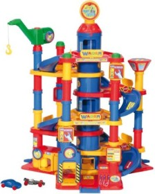WADER Garage Park Tower with 7 Floors and Cars (51060)