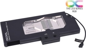 Alphacool Eisblock GPX-N acrylic glass NVIDIA RTX 2080Ti M01 with Backplate, black (11661)