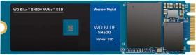 Western Digital WD Blue SN500 NVMe SSD 500GB, M.2 (WDS500G1B0C)