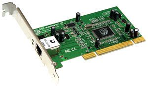 Linksys EG1032, 1x 1000Base-T, PCI